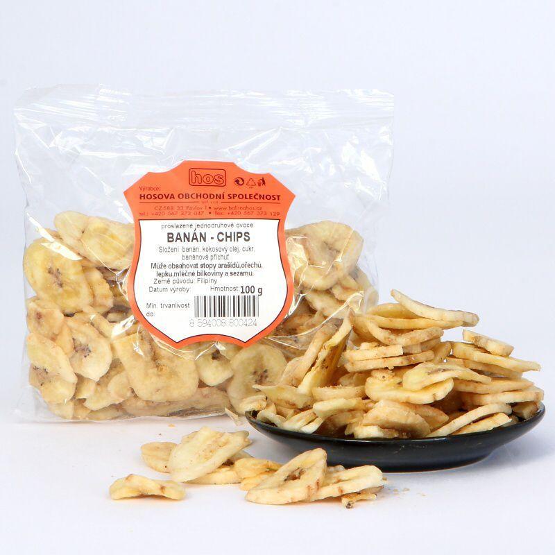 Banán – chips 100g