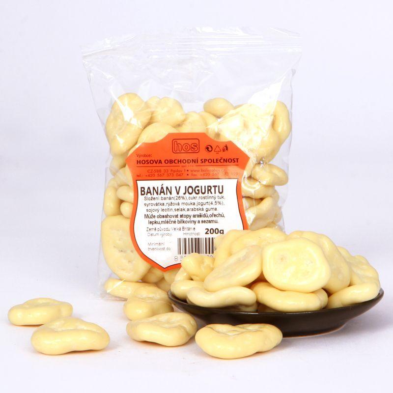 Banán v jogurtu 200g