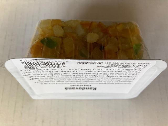 Kandovaná kůra citrusů 100g