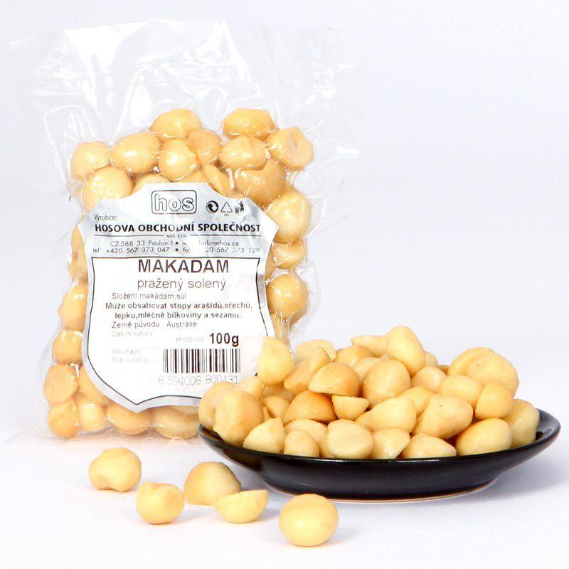 Makadam pražený solený 100g