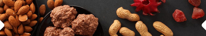 Ořechy, mandle, kokos