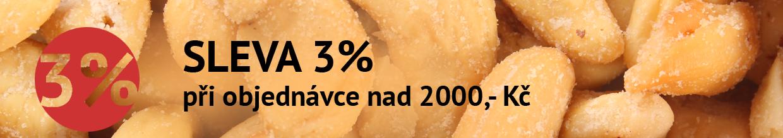 SLEVA 3% nad 2000 Kč